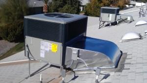 Trane 14 SEER Package Heat Pump Installed In AZ