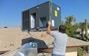 A/C and Heat Pump Installation Repair Man in Tempe