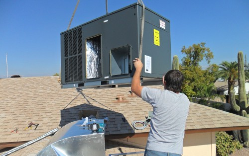 trane 14 seer package heat pump installed in az american cooling and heating