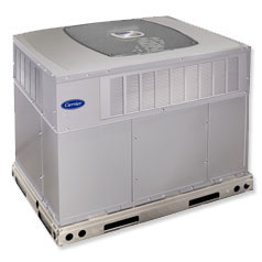 Carrier Infinity® Series Packaged Gas Furnace and Air Conditioner System