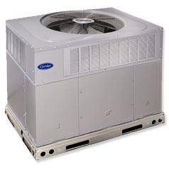 carrier heat pump. carrier performance™ series packaged gas heat electric cool system pump