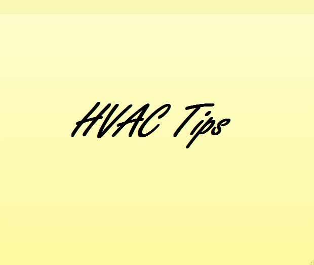 HVAC Tips And Information
