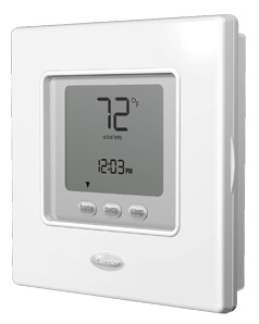 carrier commercial thermostat. carrier comfort™ programmable thermostat commercial p