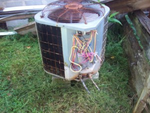 Air conditioning noise and Leaky Heat Pumps - Old Carrier
