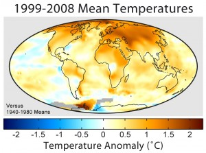 Global Warming Plot Of NASA GISS Data
