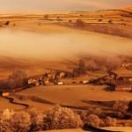 Rural Climate Change, Morning in Desert