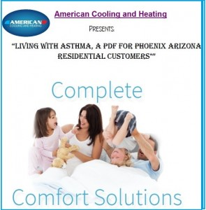 Living with asthma cover
