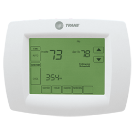 Trane Central Air Conditioning Programmable Thermostat