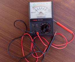 Multimeter- Testing A/C Capacitor