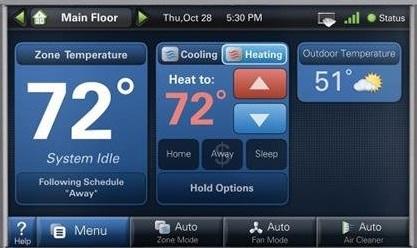 Trane ComfortLink II Thermostat System